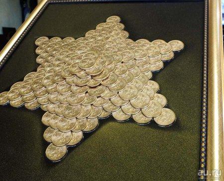 Поделки из 10 копеечных монет своими руками 89